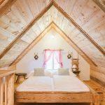 Romantischer Schlafbereich im Knusperhaus