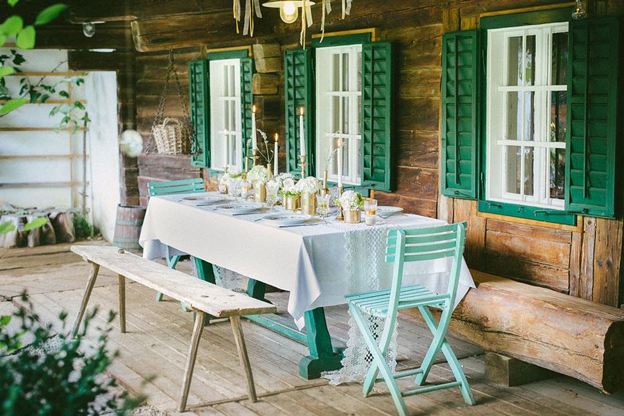 Hochzeit auf der Teichwiesn