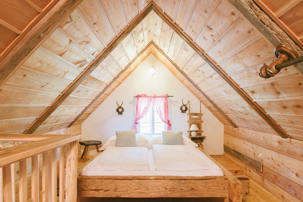 Der Schlafbereich im Knusperhaus