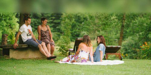 Teichwiesn Urlaub mit Freunden